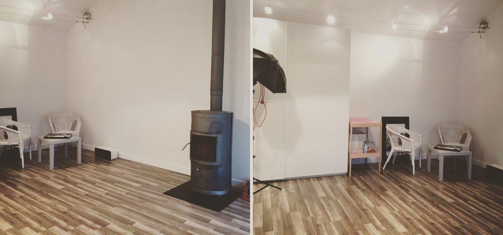 photo d'un studio photo à nantes