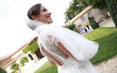 Photos de mariage de Daniel et Aurélie à la Seigneurie du Boit Benoist