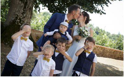 Mariage Masqué à Clisson.