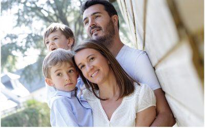 Portraits de famille a domicile